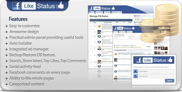 All facebook script unlike pages How to