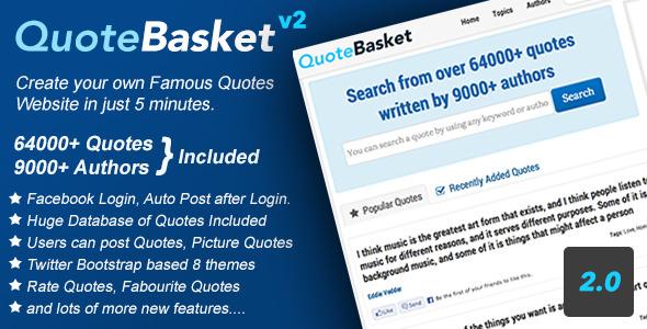 QuoteBasket